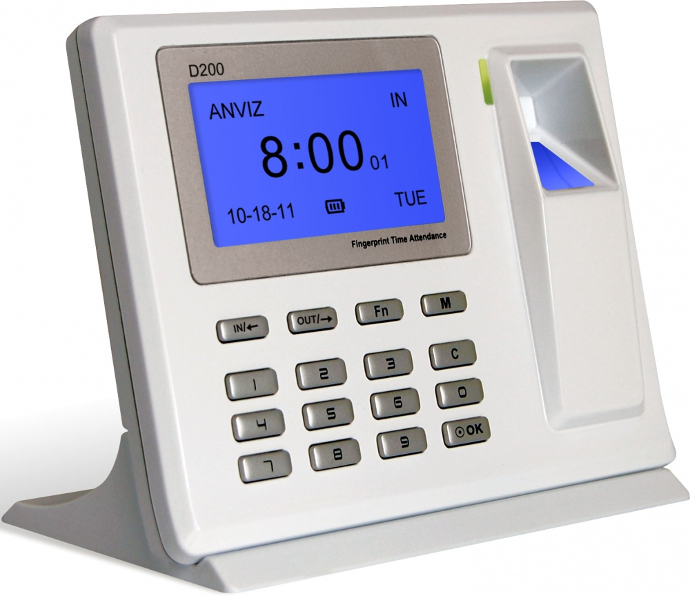 Учет рабочего времени Anviz D200 - 3